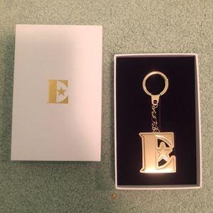 New ELTON JOHN Farewell Tour Gold E Keychain